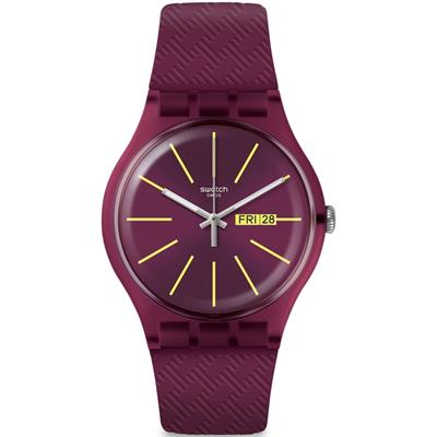 Swatch SUOR709 Winery Unisex Kol Saati
