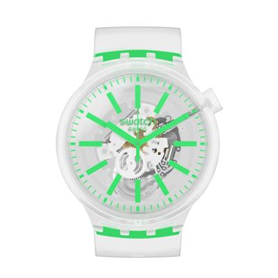 Swatch So27e104 Green Big Bold Erkek Kol Saati